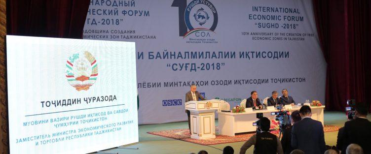 Свободные экономические зоны Таджикистана отметили свое десятилетие