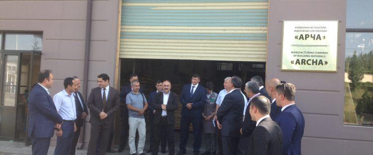 Отечественные предприниматели, владеющие бизнесом за рубежом, посетили СЭЗ «Сугд»
