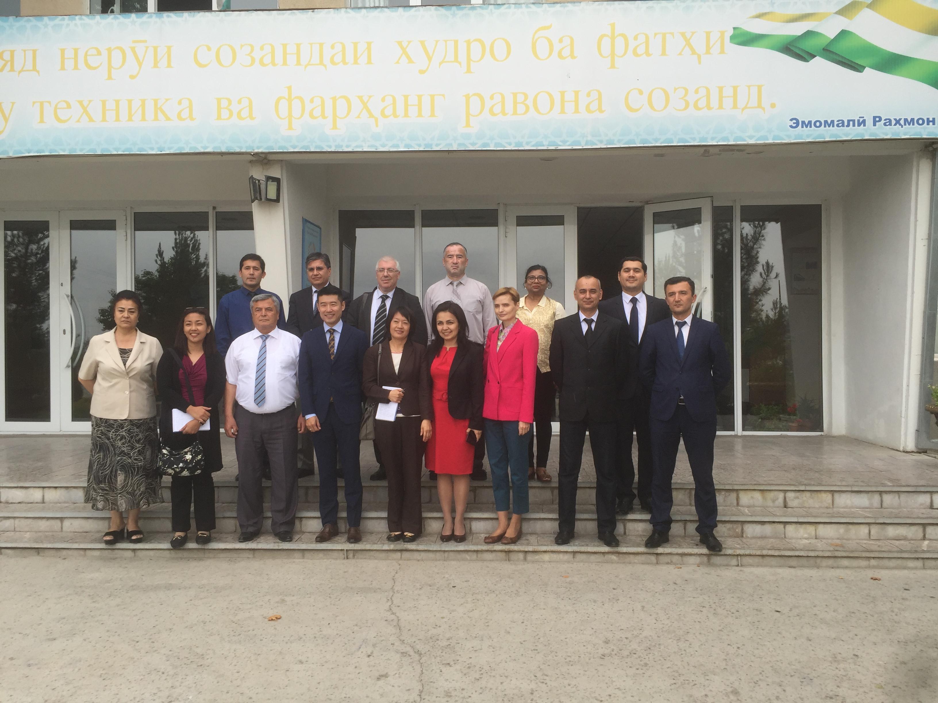 Делегация Азиатского банка развития посетила СЭЗ «Сугд»