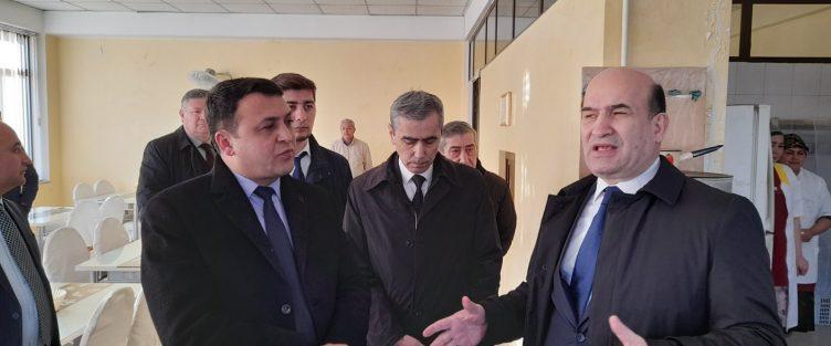 Субъекты СЭЗ «Сугд» встретились с руководством Федерации независимых Профсоюзов Таджикистана