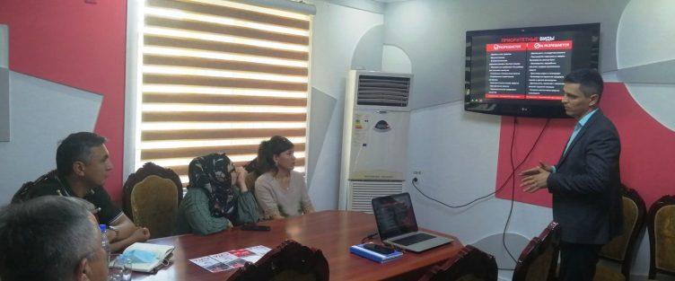 В преддверии  организации Бизнес Форума  между бизнес-сообществами  Согдийской области и представителями бизнеса  Республики Узбекиcтан СЭЗ «Сугд» посетили представители бизнес кругов Республики Узбекистан